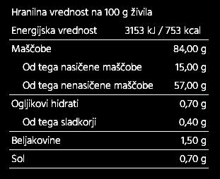 Majoneza iz avokadovega olja česen 175g