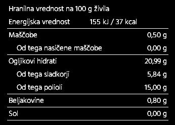 85% marmelada, mešano jagodičevje 220g