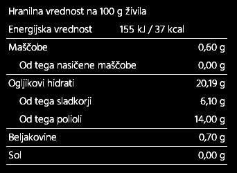 85% borovničeva marmelada 220g