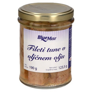Tuna fileti v oljčnem olju 190g