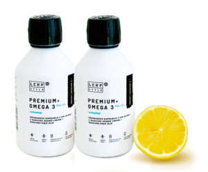 Premium + Omega 3 limona 250ml DUO