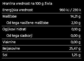 Tuna kosi v oljčnem olju 1kg