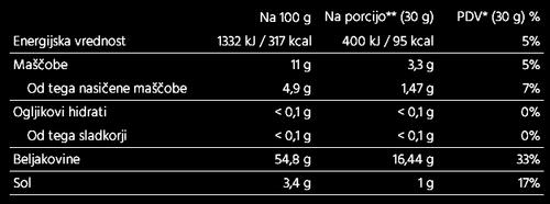 BEEF Jerky klasik - sušena govedina 30g