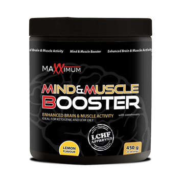 Mind & Muscle booster 450 g limona